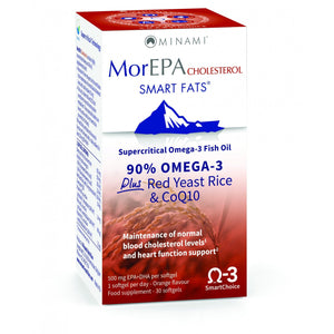 MorEPA Smart Fats Caps Choesterol 30 Caps - Medipharm Online - Cheap Online Pharmacy Dublin Ireland Europe Best Price