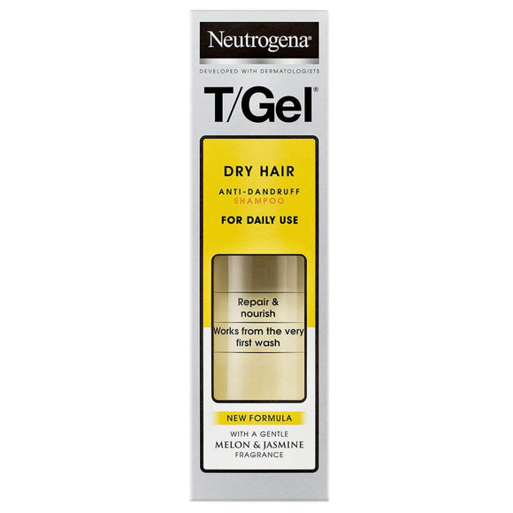 Neutrogena T/Gel Anti-Dandruff Shampoo Dry Hair 125ml
