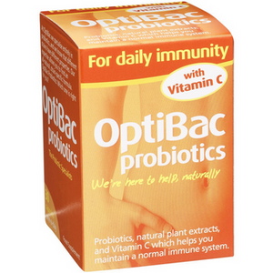 Optibac Probiotics for Daily Immunity with vitamin C 30 Capsules - Medipharm Online - Cheap Online Pharmacy Dublin Ireland Europe Best Price