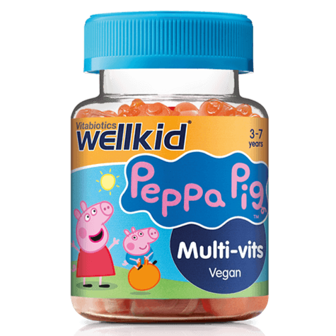 Vitabiotics Wellkid Peppa Pig Multi-Vits 30 Gummies