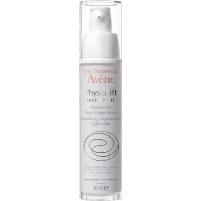 Avene Physiolift Night Smoothing Regenerating Balm 30ml - Medipharm Online Pharmacy Dublin Ireland - medipharm.ie
