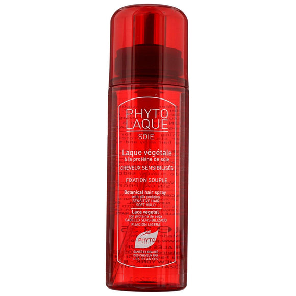 Phyto Styling Phytolaque Soie: Botanical Hair Spray With Silk Proteins 100ml