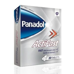 Panadol Actifast 500mg 20 Tablets