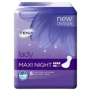Tena Lady Maxi Night 6 Pack