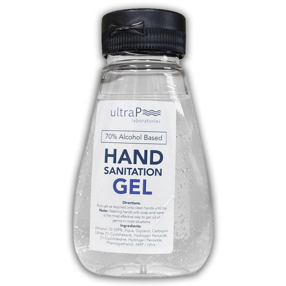 Hand Sanitiser Gel UltraP 70% Alcohol 170ml