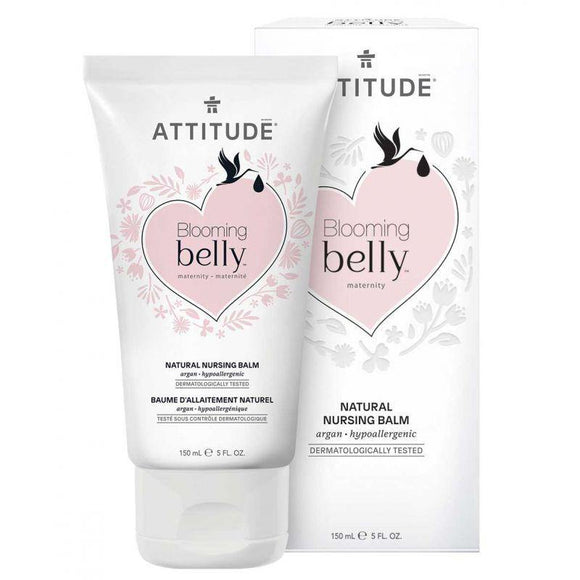 Attitude Blooming Belly Nursing Balm Nipple Cream 150ml - Medipharm Online