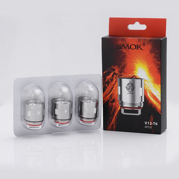 SMOK V12-T6 Replacement Coils for TFV12 CLOUD BEAST KING - 3 PK