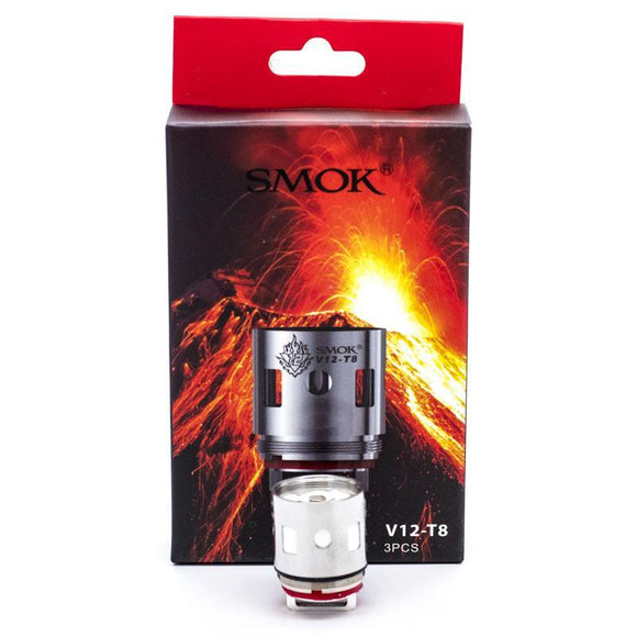 SMOK V12-T8 Replacement Coils for TFV12 CLOUD BEAST KING - 3 PK