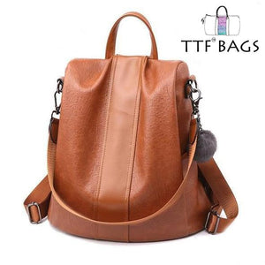 TTF™ Bag Brand New 2019 - Factory Specials Waterproof Anti-Theft Travel Backpack Shoulder Bag default KOMIZE - Nonstop LifeStyle Brown