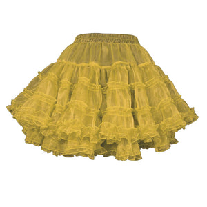 Yemima Heavy Frilled Tutu Skirt Ivory