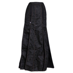 Raimundo Brocade Long Skirt