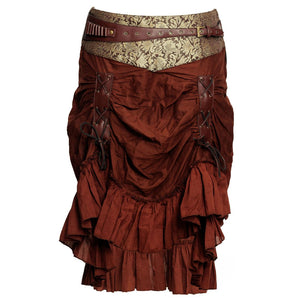 Tafadhdhal Knee Length Skirt