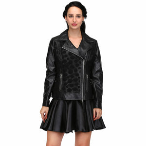 Fake Leather Women's Jackets