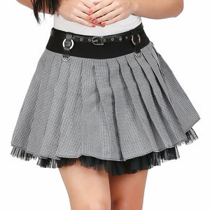 Trili Rockabilly Mini Skirt