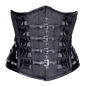 Maisie Gothic Authentic Steel Boned Underbust Corset