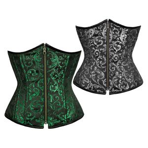 Laura Authentic Steel Boned Reversible Waist Training Underbust Corset