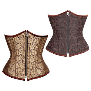 Celitic Authentic Steel Boned Reversible Waist Training Underbust Corset