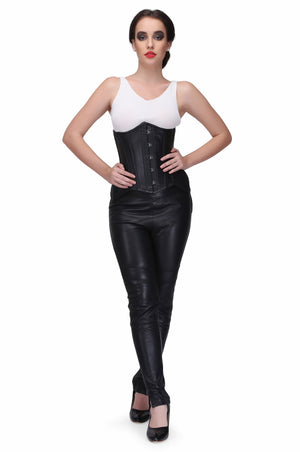 Curvy underbust Corset pattern perfect for long, medium & short torso female having broad hip area
