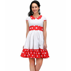 Polka Flora Retro Dress