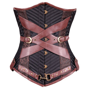 Fauna Steam Punk Underbust Corset