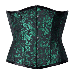 Yvonne Authentic Steel Boned Waist Reducing Underbust Corset