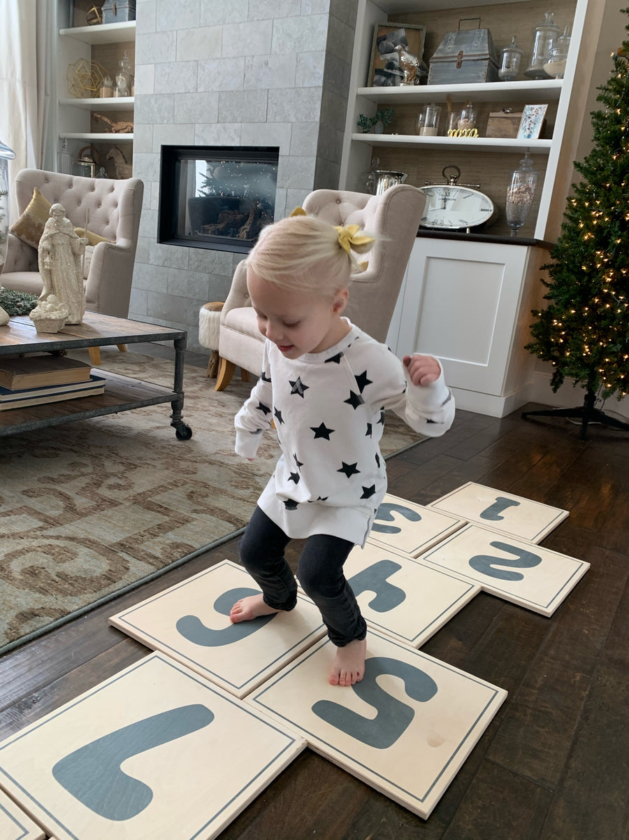 The Indoor Hop Scotch Set