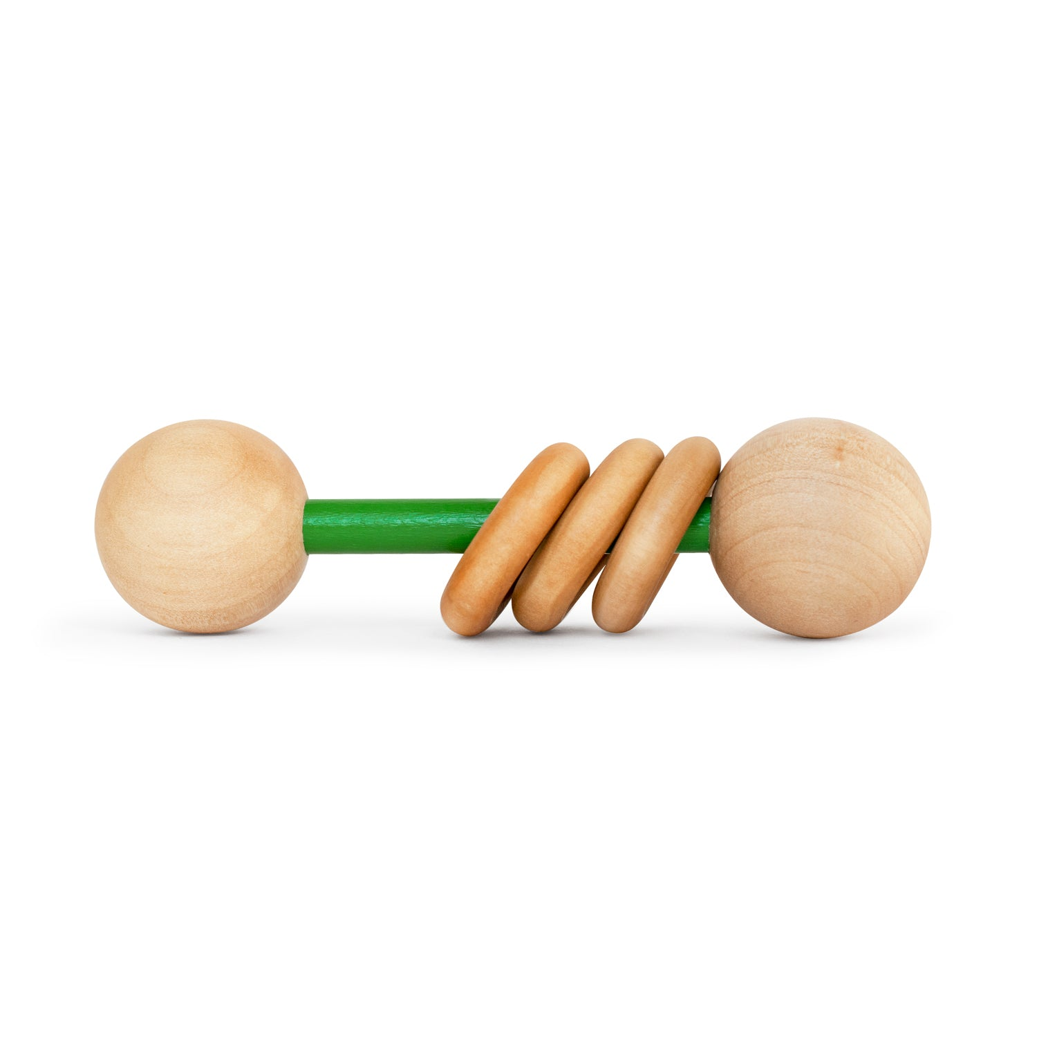 Classic Wood Baby Rattle