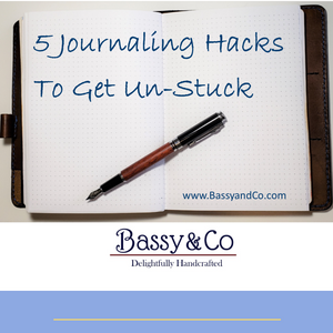 5 Journaling Hacks for traveler's notebooks
