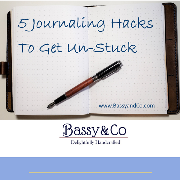 5 Journaling Hacks to Get Un-Stuck and Keep You Going When You Have Nothing to Write About