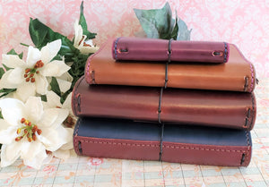 Medium Front Pocket and Spine for Leather Notebook or Cover Add-On - Bassy & Co
