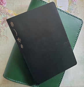 Deluxe B6 Leather Planner or Notebook Cover - Bassy & Co