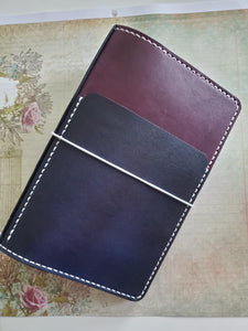 Large Front Pocket and Spine for Leather Notebook or Cover Add-On - Bassy & Co