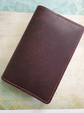 B6 Slim Leather Notebook/Planner Cover - Bassy & Co