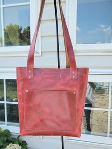 Dragon Leather Tote Bag - Bassy & Co