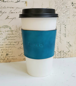 Leather Cup Sleeve - Bassy & Co