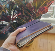 Deluxe Amethyst Leather Planner/Notebook Cover
