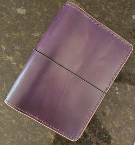 Amethyst Executive Leather Traveler's Notebook
