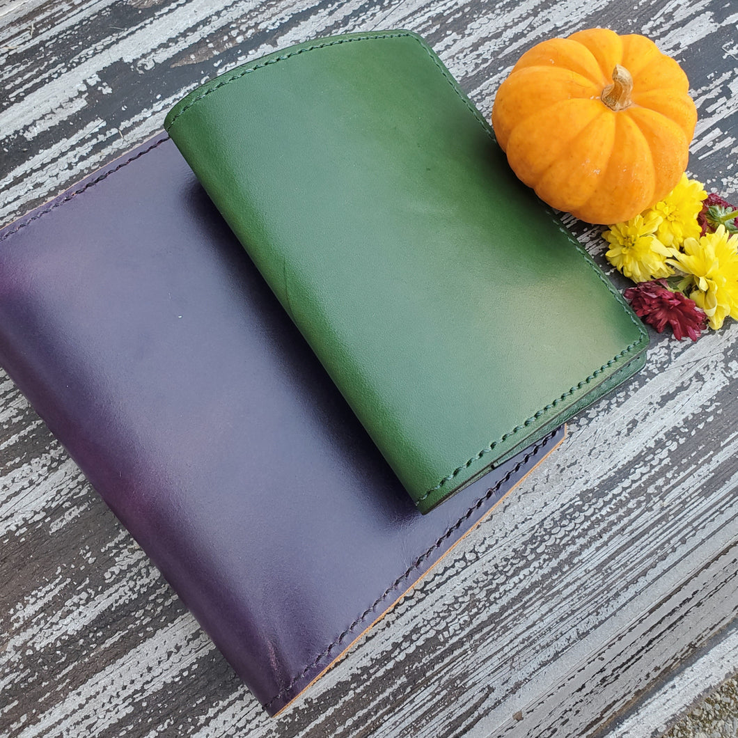 B6 Leather Planner Cover