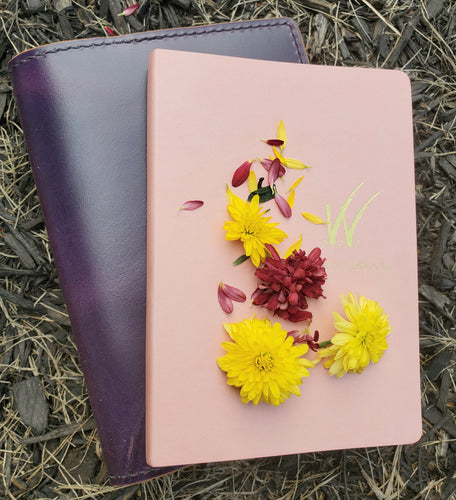 A5 Wonderland 222 Traditional Leather Planner and Notebook Cover