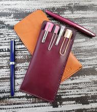 Large Leather Pen Sleeve
