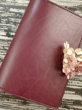 B6 Slim Traditional Leather Notebook or Planner Cover