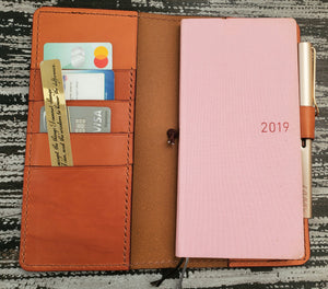 Hobonichi Weeks Wallet Leather Planner Cover