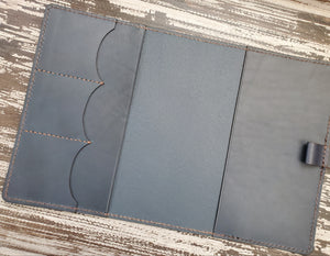 A5 Executive Leather Planner or Notebook Cover