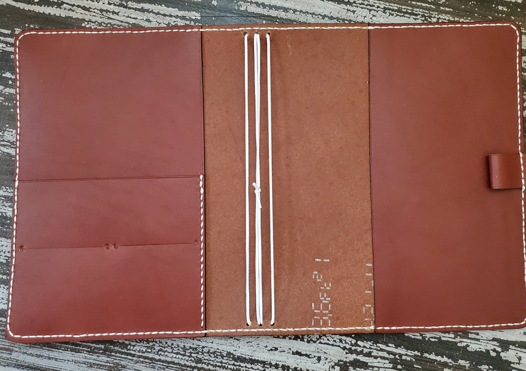 A5 Wide Studio Deluxe Leather Planner/Notebook Cover Traveler's Notebook
