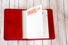 B6 Full Grain Leather Planner or Notebook Cover - Bassy & Co
