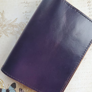 Amethyst Leather Planner/Notebook Cover