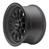 SNIPER WHEELS BALLISTIC 17 x 9, 6x139.7, +15 Matt Gun Metallic set 4pcs with caps. Load rated 1250kg per wheel.