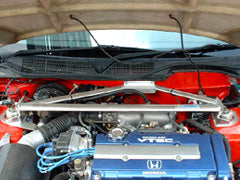 Carbing Front Aluminium Strut Bar 3pt with MCS (Master Stopper)