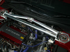 Carbing Front Strut Bar Aluminium 3pt Type RS P with MCS (Master Stopper)
