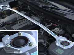 Carbing Front Strut Bar Steel 2pt